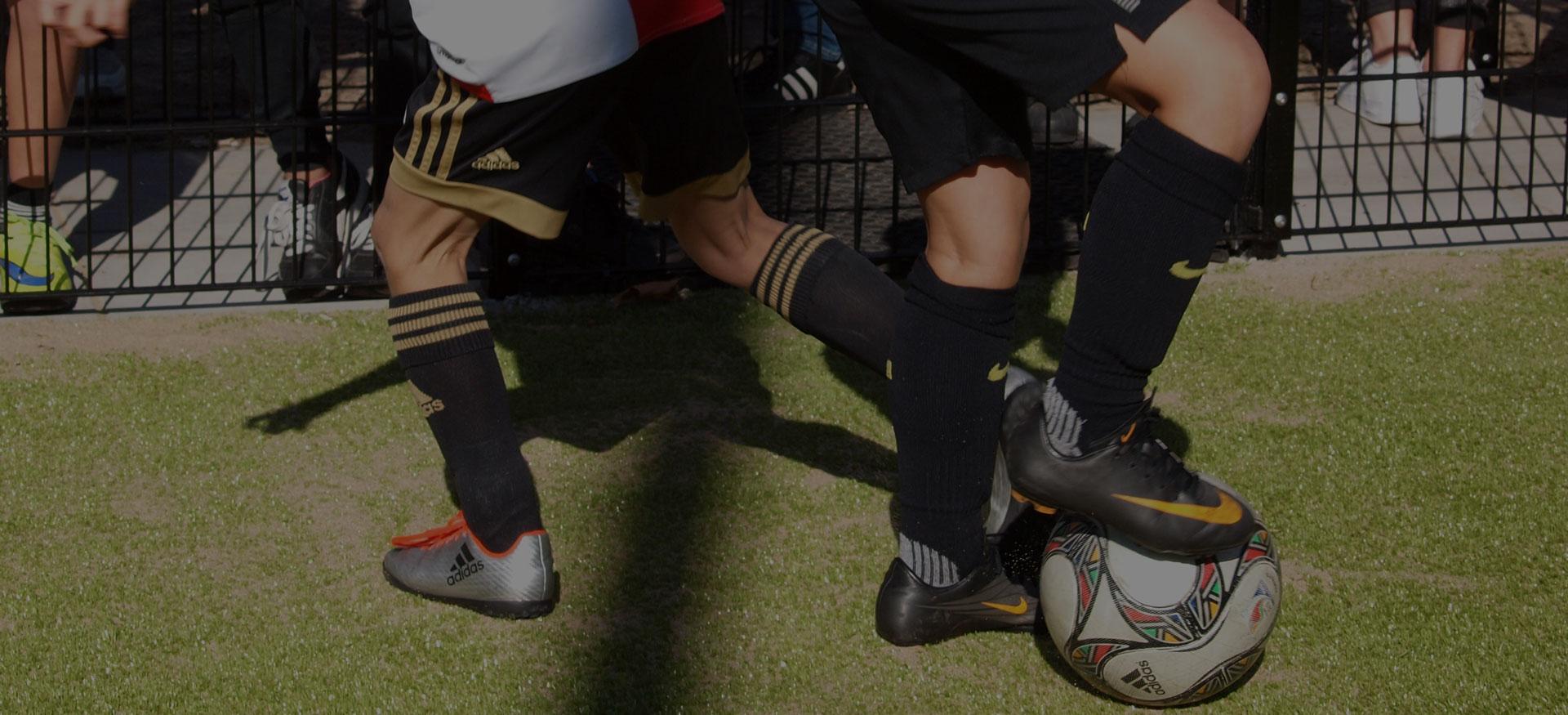 pannakooi voetballen