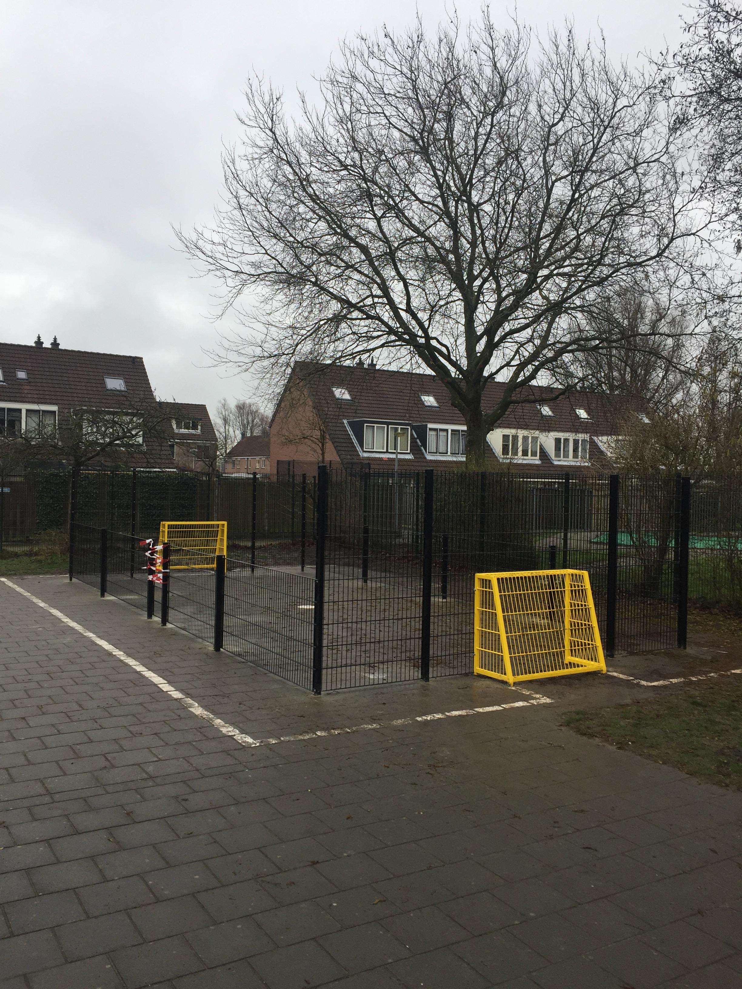 Foto Voetbalcourt 11 - Basisschool De Wissel (Locatie Flamingoweg)