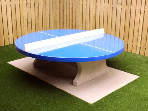 tafeltennistafel rond