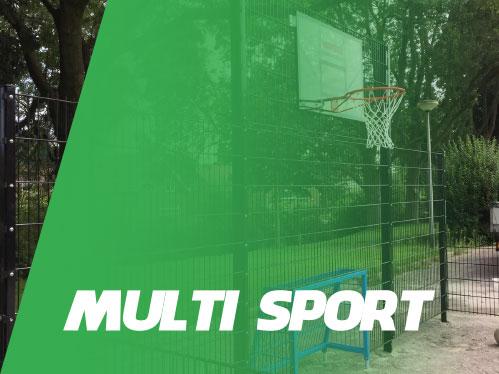 Voetbalcourt Multi Sportcourt