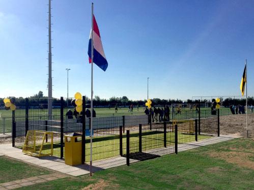 Voetbalcourt Pro Serie